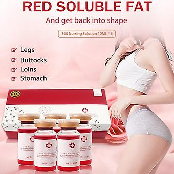 The Red Ampoule Slimming Solution Liposuction For Hyaluronic Pen - Skin Firming Lipolytic Solution Fat Dissolve
