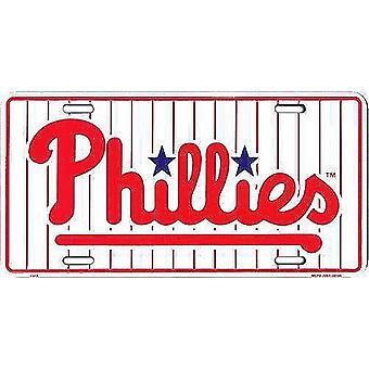 Philadelphia Phillies MLB License Plate