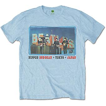 The Beatles Nippon Budokan Officiella Tee T-Shirt Mens Unisex
