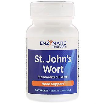Enzymatic Therapy, St. John's Wort, 60 Tablets