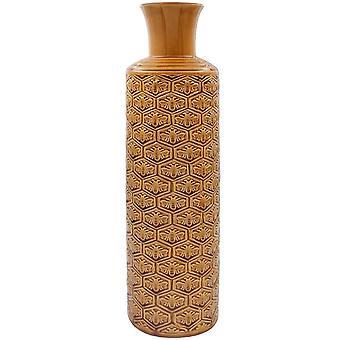 50cm abelhas douradas Art Polished Cerâmica Vaso Enfeite de Mesa