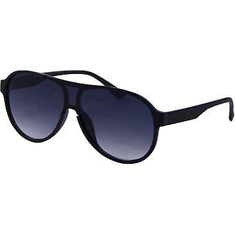 Okulary przeciwsłoneczne Unisex Trend matowy czarny (4210)