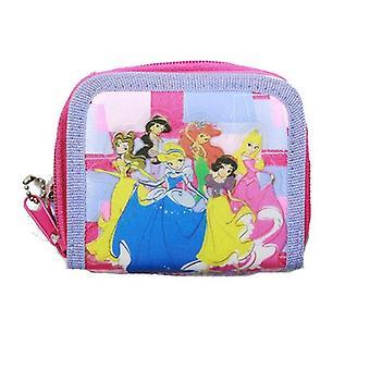 Zipper Wallet - Disney - Princess - Pink New 18443