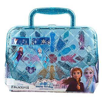 Prinsessa käsilaukku, meikki setti Disney Lasten Kauneus Play Lelu Laatikko