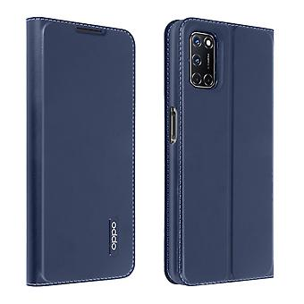 Back Cover for Oppo A72/A52 With Stand and By-Stand Function - Dark Blue