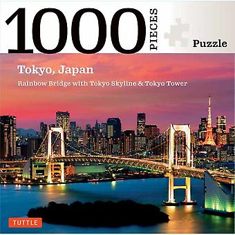 Tokyo Skyline Jigsaw Puzzle  1000 pieces by Edited by Tuttle Publishing