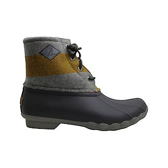 Sperry Womens Saltwater Rubber Closed Toe Ankle Rainboots