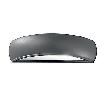 Ideal Lux Giove - LED 1 Licht Outdoor Outdoor Down Wall Licht Anthrazit IP54, E27