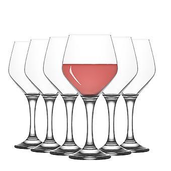 LAV Ella Grandes Copas de Vino - 450ml - Pack de 12 Goblets Stemware
