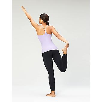 Brand - Core 10 Women's Yoga Fitted Support Tank, lavender, X-Large
