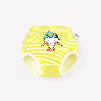 Baby Underwear Panties Girls- Infant Cute Cartoon Dots Striped Shorts,