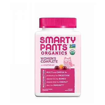 SmartyPants Organic Womens Compelte, 120 Count