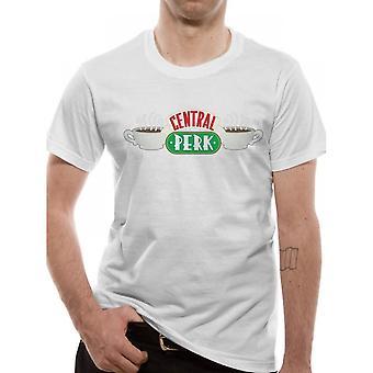 Friends Unisex Adults Central Perk Design T-Shirt