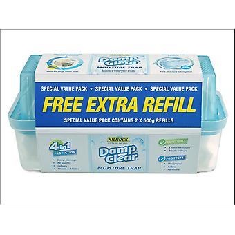Kilrock Slimline Kosteusloukku + Täyttöpakkaus