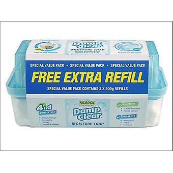 Kilrock Slimline Moisture Trap + Refill Pack