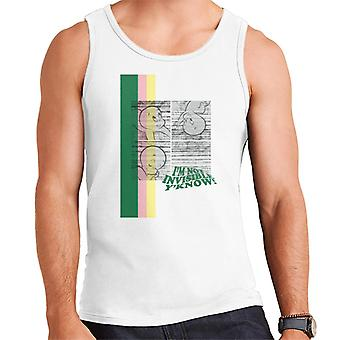 Casper The Friendly Ghost I'm Not Invisible Y'Know Men's Vest