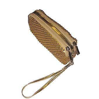 Women's helmillä kytkin laukku naiset vuorattu huulipuna kukkaro älykäs iltajuhla pieni käsilaukku