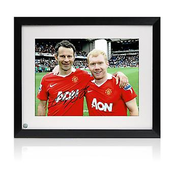 Ryan Giggs Signed Photo: Manchester United Legends. Framed