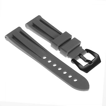 Strapsco silicone-watch-strap-with-matte-black-pre-v-buckle