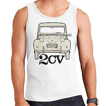Citro�n 2CV For Light Men's Vest