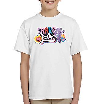 Care Bears Avaa Magic Share Love Kid's T-paita