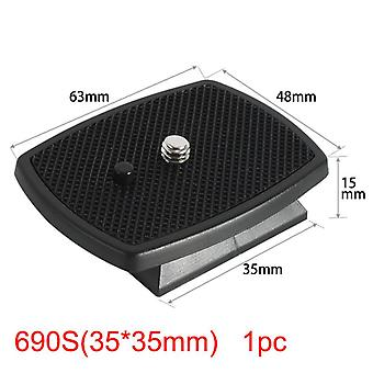 Camera-tripod Plate, Three-dimensional Plastic Adapter