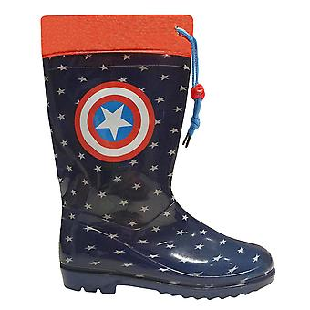 Avengers marvel kids wellinghton boots rain and snow ave9869bot