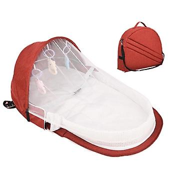 Portable Foldable Baby Travel Outdoor Diaper Change Bed, Mosquito Net