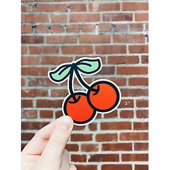 Cherries Die-cut Vinyl Sticker