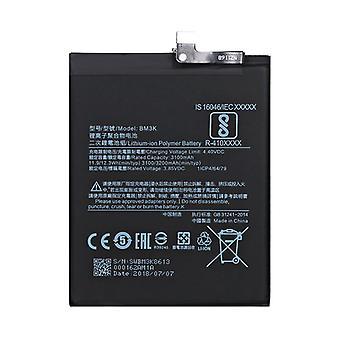 小米科ミミミックス3のためのBM3K 3100mAhのリチウムポリマー電池