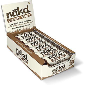 Nakd Cocoa Twist Breakfast Oatie Bar 30g x18