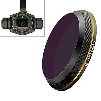 PGYTECH X4S-HD ND16 Kultareunainen linssisuodatin DJI Inspire 2 / X4S Gimbal Camera Drone -lisävarusteille