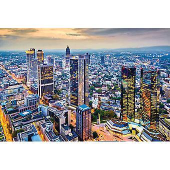 Taustakuva seinämaalaus ilmakuva Frankfurt (25233286)