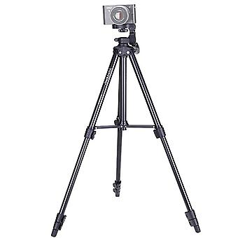 YUNTENG VCT-680RM 4-Section Folding Legs Aluminum Alloy Tripod Mount with Three-Dimensional Tripod Head for DSLR & Digital Camera, Adjustable Height: