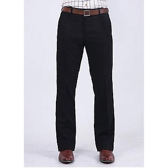 Men's Trousers Woolen Fabric Business Casual Office Meeting Pants