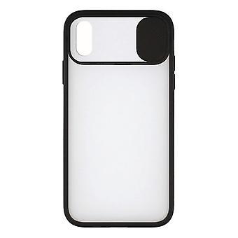 Mobiilikansi iPhone X / XS KSIX Duo Soft Cam Protect Black