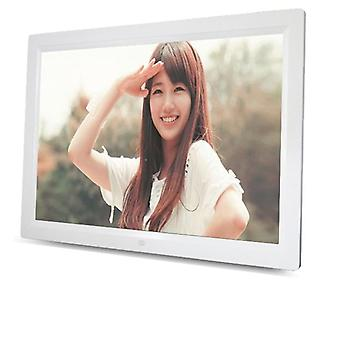 15 Inch, 16:9 Led Widescreen-digital Photo Frame With Holder & Remote Control