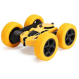Boy Drifting Stunt Car, control remoto de doble cara tumbling y giratorio de cuatro ruedas Drive Off-road Car