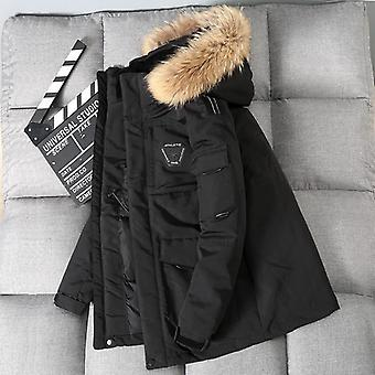 Männer Workwear New Style Young Puffer Jacke Kurz verdicken Outdoor Winter Warm