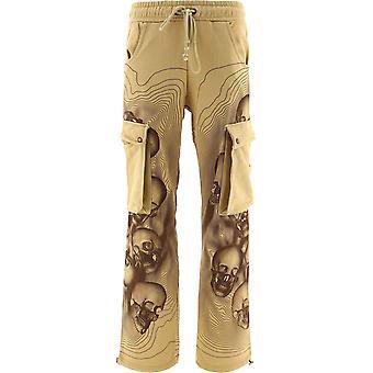 Formy Studio Mppbrown Men's Beige Cotton Pants