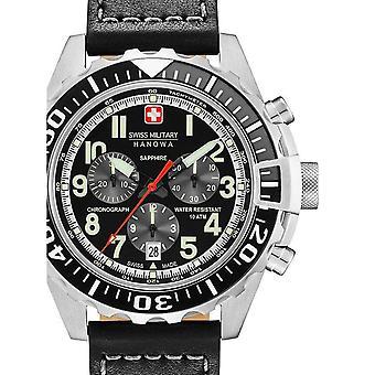 Mens Watch Swiss Military Hanowa 06-4304.04.007.07, Quartz, 45mm, 10ATM