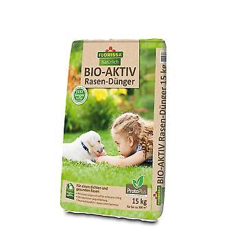 FLORISSA Bio Active Lawn Fertilizer Proto Plus, 15 kg
