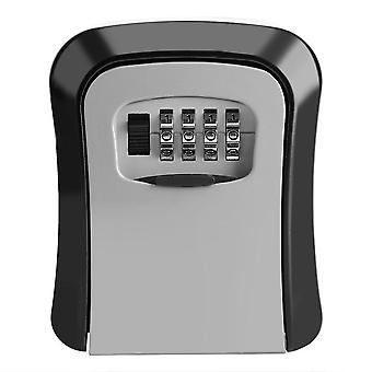 Safe Box Weatherproof, Digit Combination, Outdoor Key Security Storage Case