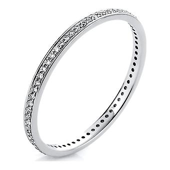 Luna Creation Infinity Ring Memoire Full 1A426W456-5 - Ringbreedte: 56
