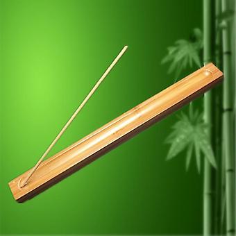 Stykke Bambus Materiale Stick Røgelse Plate