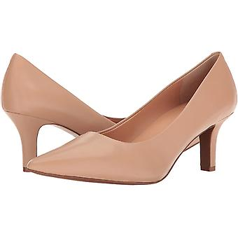 Trotters Women's Shoes T1714-164 Leather Pointed Toe Classic Pumps