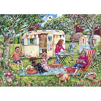 Gibsons 1000 Piece Caravan Escape Jigsaw Puzzle