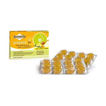 Propolis with Hededra, Honey, Zinc and Vit C 24 pellets (Lemon - Honey)