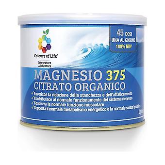 Magnesium 375 Organic Citrate Powder 180 g of powder