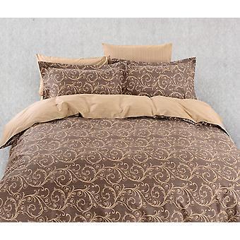 Juego de sábanas de cubierta de edredón, ropa de cama Dolce Mela Bolzano Queen Size